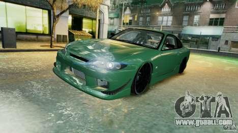 Nissan Silvia S15 for GTA 4 bottom view