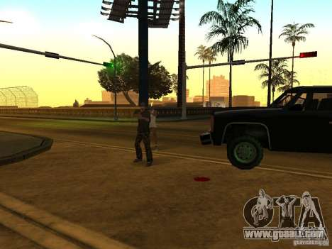 Camouflaged cops for GTA San Andreas forth screenshot