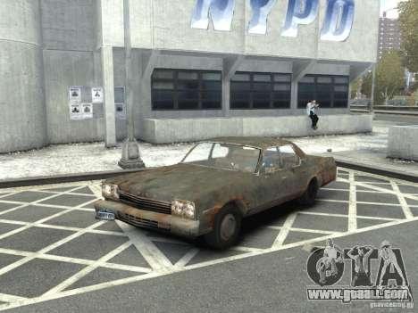 Dodge Monaco 1974 Rusty for GTA 4