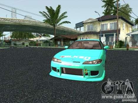 Nissan Silvia S15 Tunable for GTA San Andreas side view