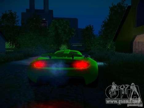 Hennessey Venom GT Spyder for GTA San Andreas engine