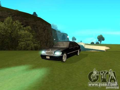 Mercedes-Benz 600 W140 for GTA San Andreas right view