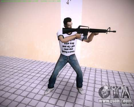 New M4 for GTA Vice City