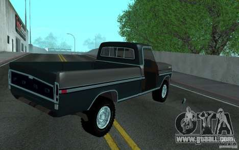 Ford F150 Ute 1976 for GTA San Andreas side view