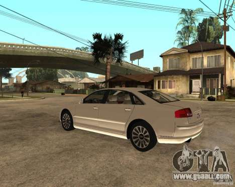 Audi A8 2003 for GTA San Andreas left view