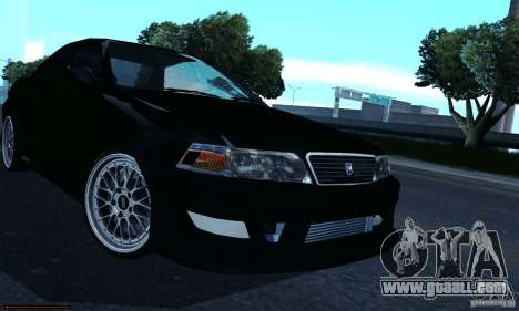 Toyota Mark II Tuning for GTA San Andreas back view