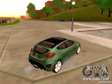 Hyundai Veloster Turbo v1.0 for GTA San Andreas side view