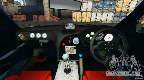 Mazda RX-7 RE-Amemiya v2 for GTA 4 back view