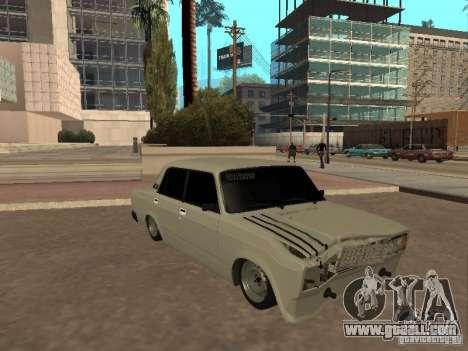 VAZ 2107 broken for GTA San Andreas