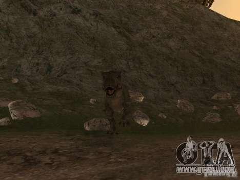 Dinosaurs Attack mod for GTA San Andreas second screenshot