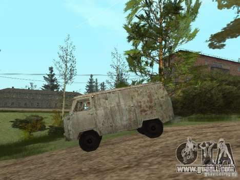 UAZ 452 for GTA San Andreas left view