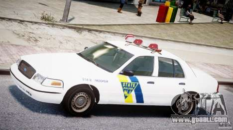 Ford Crown Victoria New Jersey State Police for GTA 4