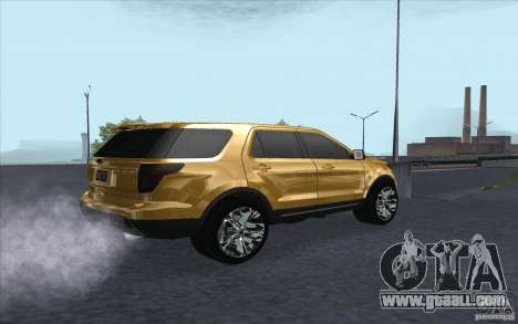 Ford Explorer Limited 2013 for GTA San Andreas right view