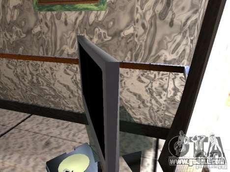 New TV for GTA San Andreas third screenshot