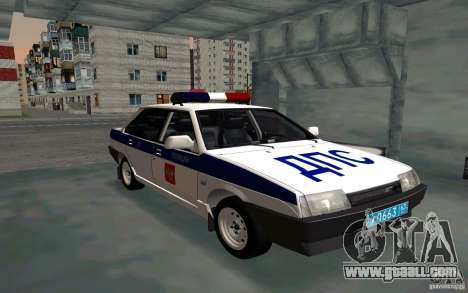 Vaz 21099, police for GTA San Andreas
