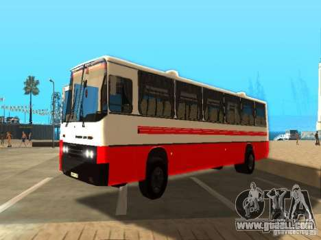IKARUS 250 for GTA San Andreas back left view