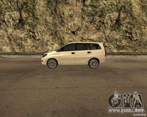 Toyota Innova for GTA San Andreas left view