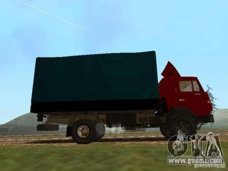 KAMAZ 5325 for GTA San Andreas left view