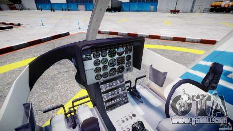 Bell 206 B - Chicago Police Helicopter for GTA 4 right view