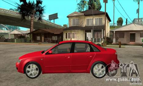 Audi S4 2004 for GTA San Andreas left view