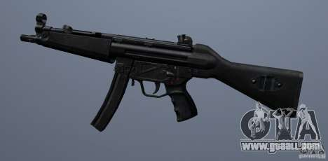 MP5 for GTA San Andreas third screenshot