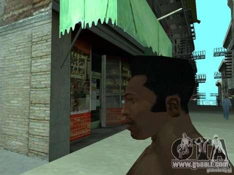 THE NEW FACE OF CJ for GTA San Andreas sixth screenshot