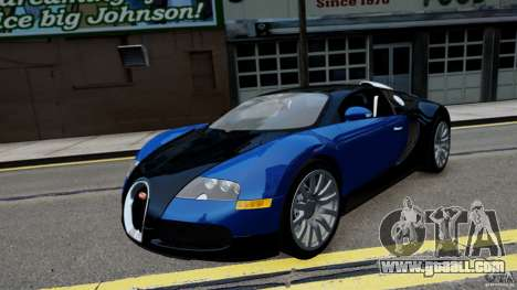 Bugatti Veyron 16.4 v1.0 wheel 2 for GTA 4