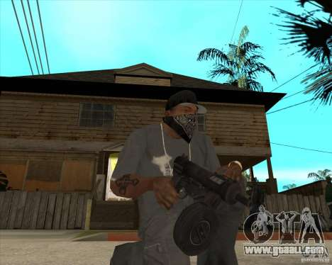 Pak weapons of Fallout New Vegas for GTA San Andreas