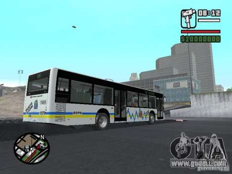 Onibus for GTA San Andreas inner view