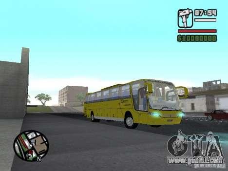 Busscar Vissta Bus for GTA San Andreas back view