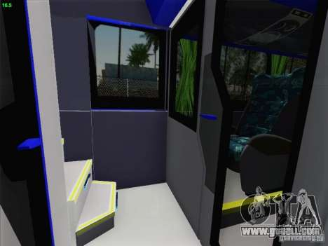 Marcopolo Paradiso 1800 DD Navette XL Coomotor for GTA San Andreas wheels