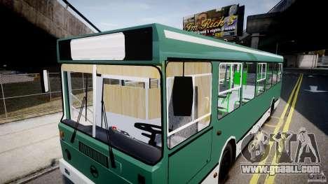 LIAZ 5256 for GTA 4 interior