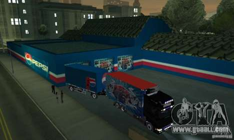Pepsi Market and Pepsi Truck for GTA San Andreas third screenshot