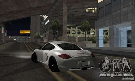 Porsche Cayman R for GTA San Andreas left view
