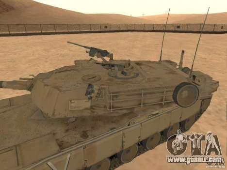 Abrams M1A2 for GTA San Andreas right view