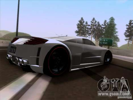 Chrysler ME Four-Twelve for GTA San Andreas right view