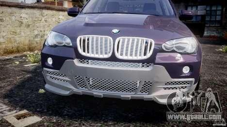 BMW X5 xDrive 4.8i 2009 v1.1 for GTA 4 inner view