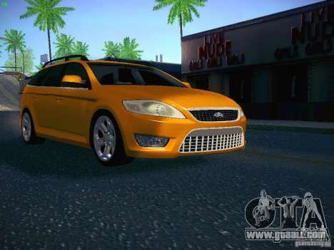 Ford Mondeo Sportbreak for GTA San Andreas