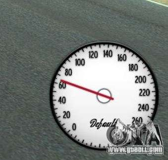 Speedometer IV (1 Skin) for GTA 4