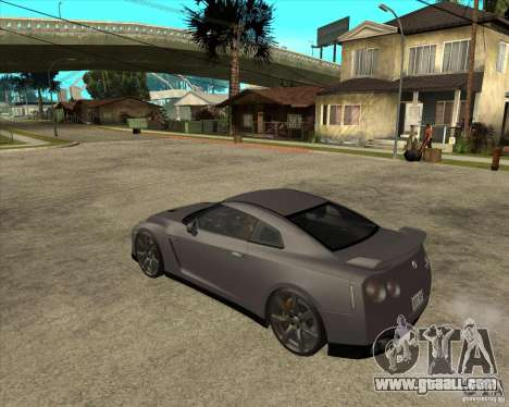 2008 Nissan GTR R35 for GTA San Andreas left view