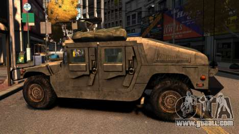 HMMWV M1114 for GTA 4 left view