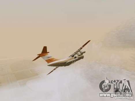 Ilyushin Il-76td for GTA San Andreas inner view