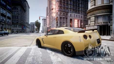Nissan GTR R35 SpecV v1.0 for GTA 4 right view