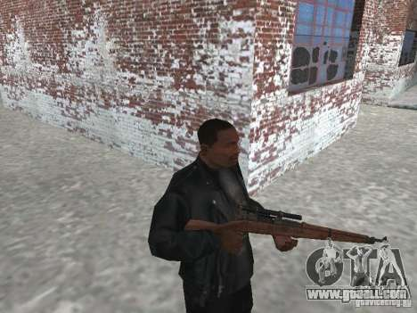 Springfield M1903 for GTA San Andreas