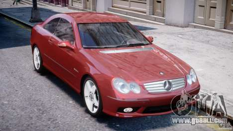 Mercedes-Benz CLK 63 AMG 2005 for GTA 4 side view
