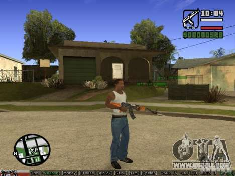 Pak weapons for GTA San Andreas second screenshot