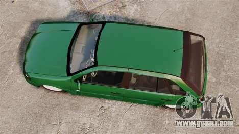Volkswagen Gol G4 Edit for GTA 4 right view
