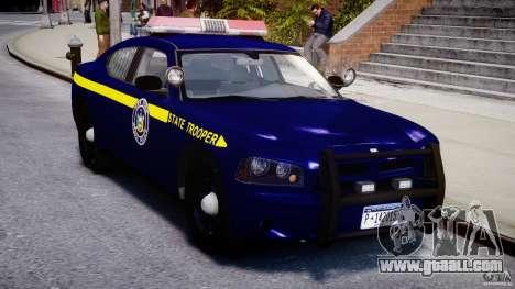 Dodge Charger New York State Trooper CHGR-V2.1M for GTA 4 inner view