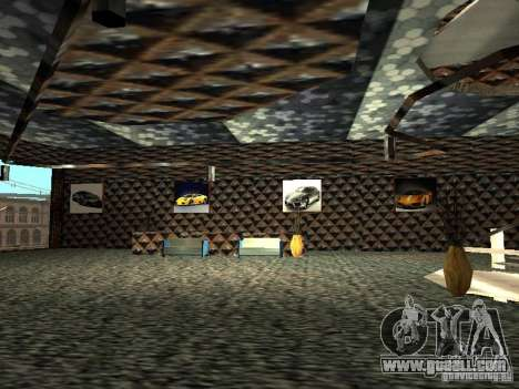 New Lamborghini showroom in San Fierro for GTA San Andreas seventh screenshot