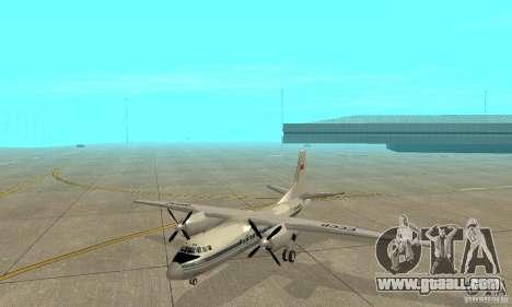 Antonov an-24 for GTA San Andreas